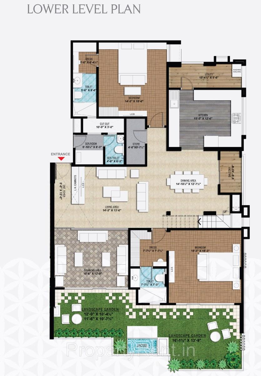 Ultra Luxury Duplex Penthouse For Rent Near C Scheme